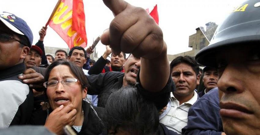 Cuestionan ausencia de Congresistas fujimoristas en diálogo con maestros en huelga