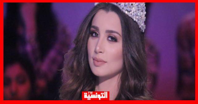 بالصور/ التونسية سهير الغضاب تثير ضجة في مصر بفستانها العاري !