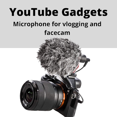 Best 6 vloggger accessories for youtubers 2021