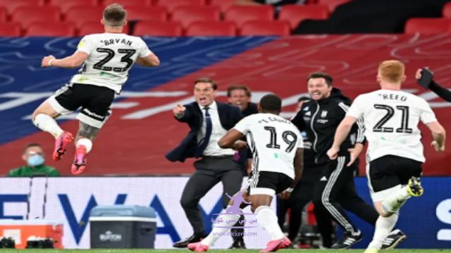 فولهام يترقي للدوري الانجليزي بعد الفوز في اخر مبارة في البطولة