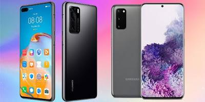 Nyaris Sempurna, 8 Potret Adu Spek Samsung Galaxy S20 Ultra Dengan Huawei P40 Pro+
