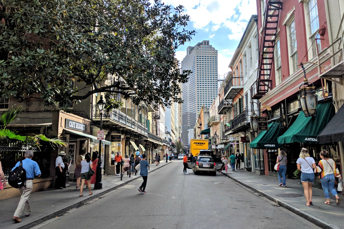 Three Days in New Orleans Louisiana
