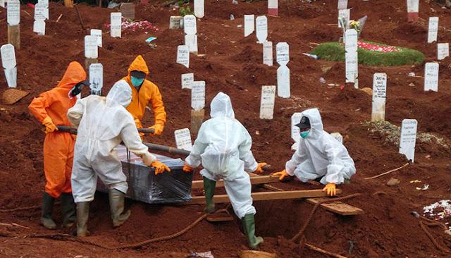 Pemerintah Akui Angka Kematian Covid-19 Indonesia Relatif Lebih Tinggi dari Rata-Rata Dunia