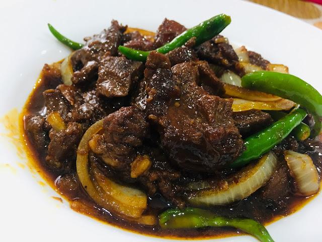 resepi daging masak hitam berempah