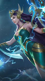 Kadita Ocean Goddess Heroes Mage of Skins V1