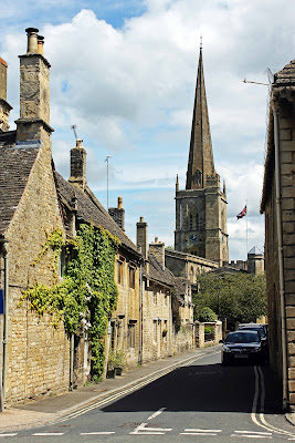Fine art print - Burford Village Street - The Cotswolds
