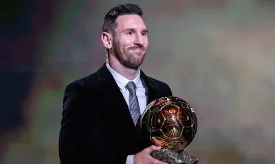 رد فعل نادي برشلونة على غياب الكرة الذهبية 2020