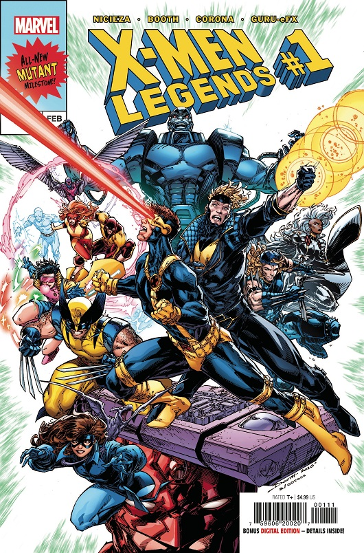 Cover of X-Men Legends #1