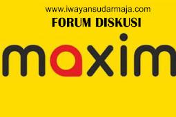 (Forum Driver Pemula Maxim) Penyebab Orderan Maxim Sepi
