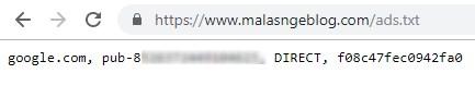 Cara Cek Ads.txt di Blogger