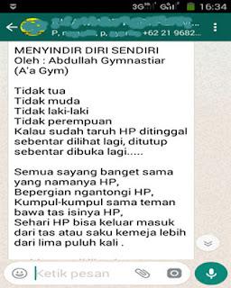 Kata Kata Bijak A'a Gym