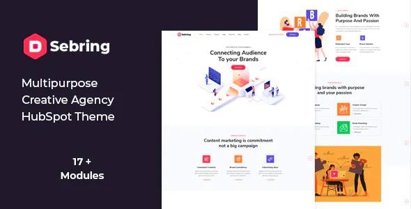 Best Creative Agency HubSpot Theme