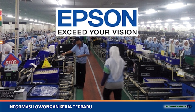 Lowongan Kerja PT. Indonesia Epson Industry, Jobs: Finance Staff, Logistic Management Staff