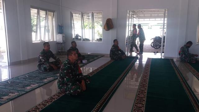 Kegiatan Safari Dengan Sholat Dilaksanaka Personel Jajaran Kodim 0207/Simalungun Diwilayah Binaan