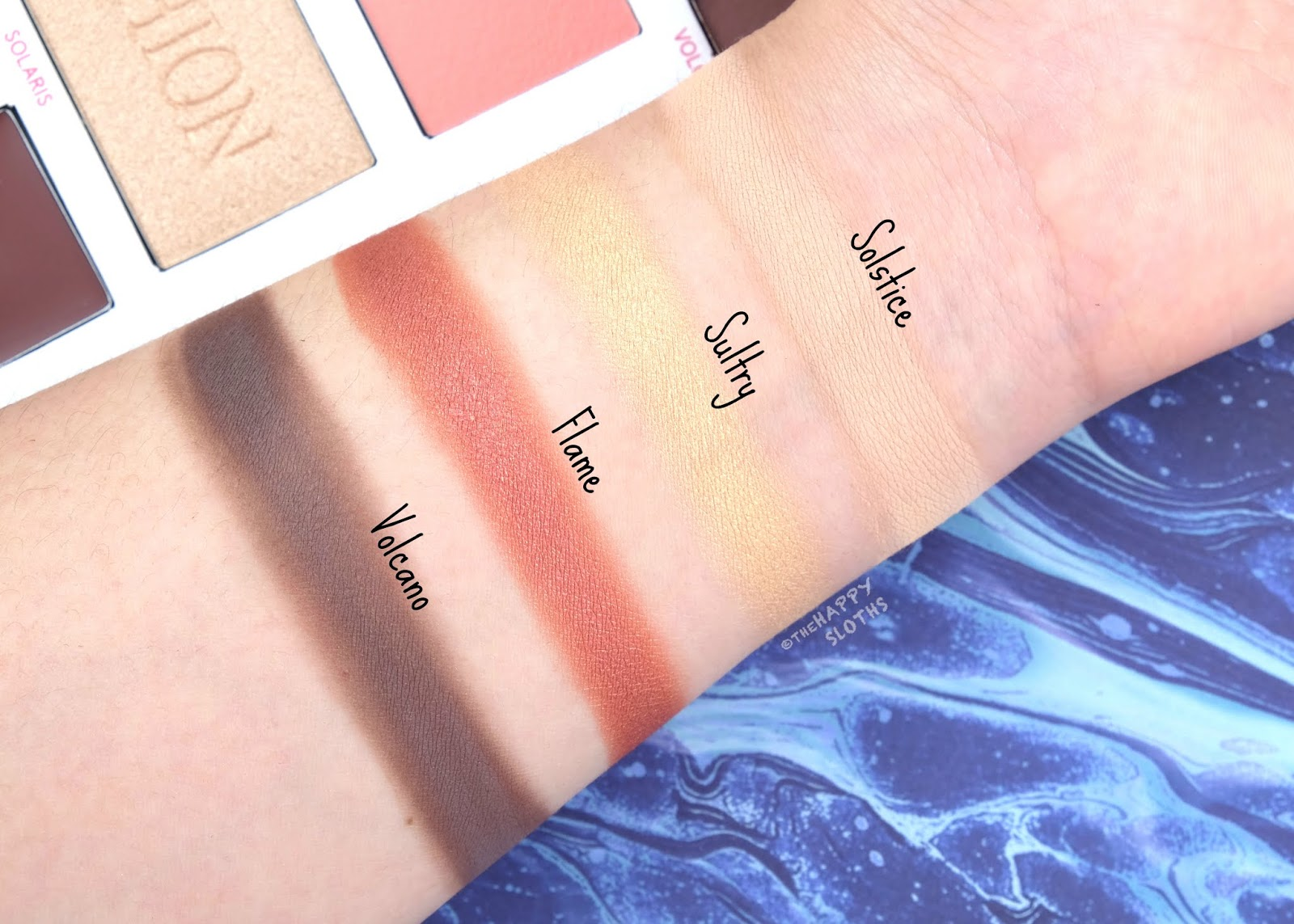 Lise Watier | Watier x Fashion Soul on Fire Palette: Review and Swatches