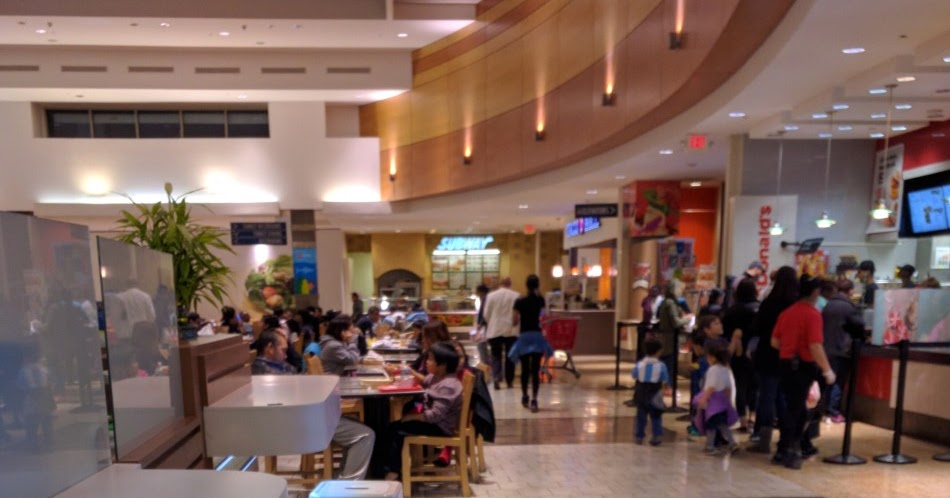 Wheaton Mall Food Court
