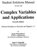 Solution Manual of Complex Variable and Application