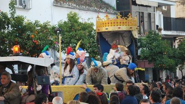 Horario e Itinerario Cabalgata de Reyes Magos de Chiclana de la Frontera (Cádiz) 2020