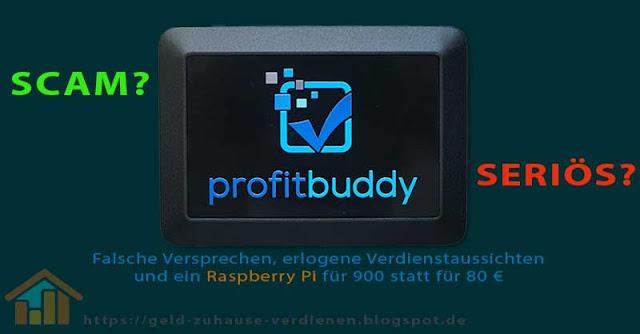 Profit Buddy Scam oder seriös?