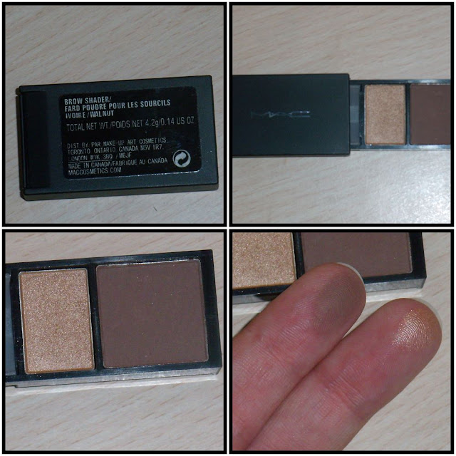brow shader mac