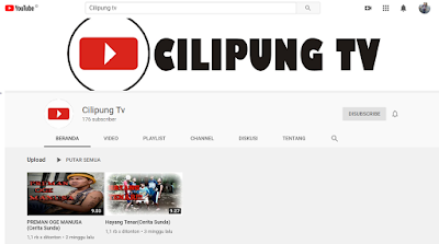 Cilipung TV Youtube Channel
