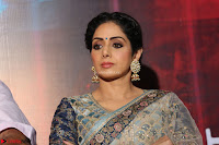 Sri Devi in designer saree stunning beauty at the launch of MOM movie Trailer~  Exclusive 105.JPG