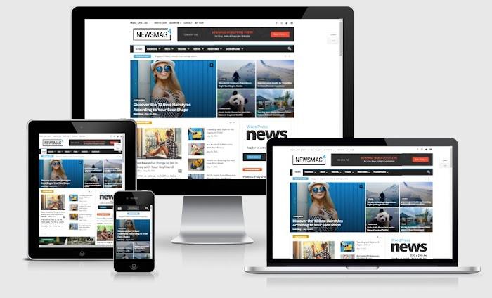 NewsMag PRO Magazine WordPress Theme