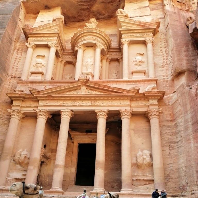 Keajaiban Kota Petra Yordania Negeri Para Pemahat Bukit