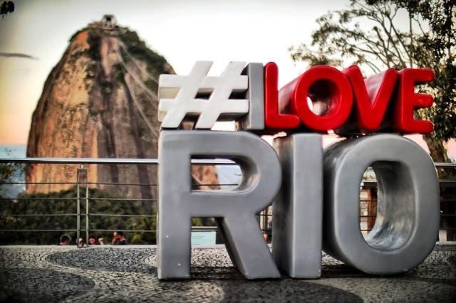 Rio ganha o totem #ILoveRio