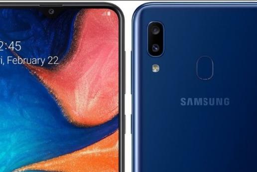 Spesifikasi Layar Samsung Galaxy A20
