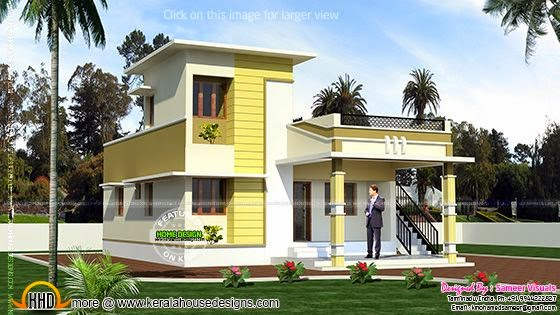 Single storied Tamilnadu home