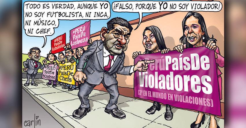Carlincaturas Lunes 20 Noviembre 2017 - La República