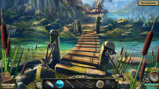 мост через речку восстановлен в игре тьма и пламя враг в отражении