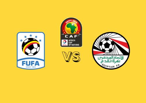 Uganda vs Egipto  Resumen
