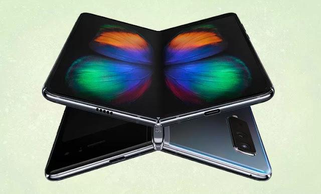 Folded display.