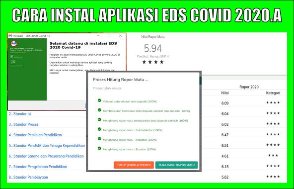 Cara Instal EDS PMP 2020 A