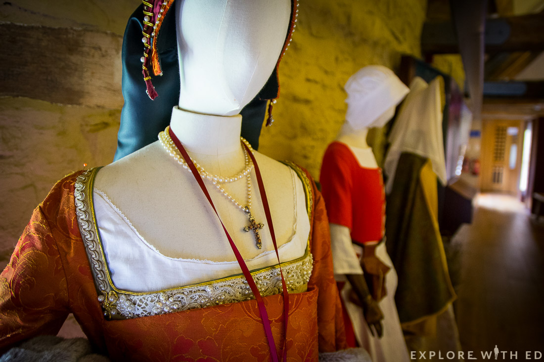 Tudor Clothing at The Tithe Barn