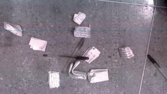 advogado preso bilhetes presidio reu justica