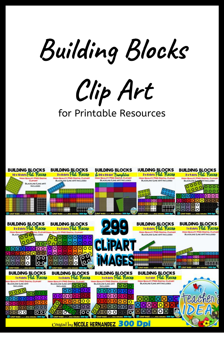 https://www.teacherspayteachers.com/Product/Flat-Building-Blocks-Clipart-BUNDLE-5479812