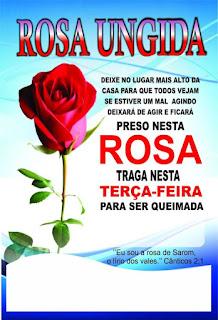rosa,ungida,impd,igreja,mudial,poder,deus,terça-feira,milagre,urgente