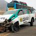 Chiquitoy: Dos policías resultan heridos en despiste de patrullero