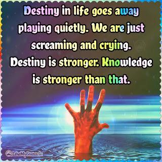 Destiny quote