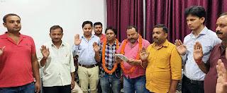 Jaunpur News : जेसीआई शाहगंज संस्कार ने एखलाक खान को बनाया अध्यक्ष