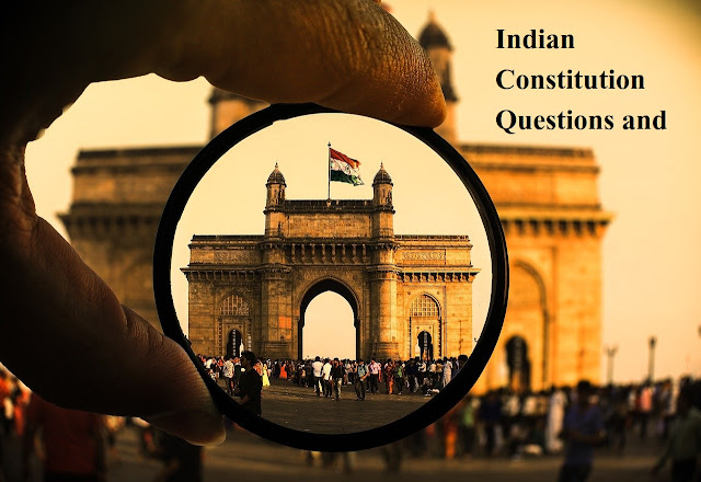 Indian Constitution Questions and Answers