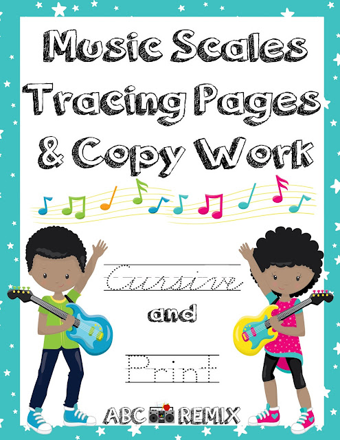 https://www.teacherspayteachers.com/Product/Music-Scales-Tracing-Pages-and-Copy-Work-and-Audio-Files-2642929