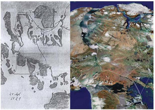 Cryptoforestry: Eskimo songlines / Eskimo highways