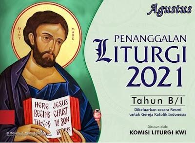 KALENDER LITURGI AGUSTUS 2021