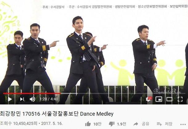 Changmin'in askerliğini yaparken çekilmiş videosu dikkat çekti