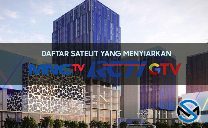 Satelit Yang Menyiarkan MNC Group Secara FTA