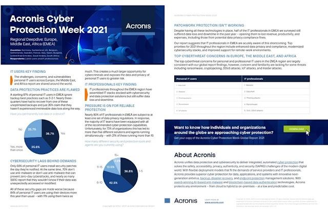 استطلاع أسبوع الحماية الإلكترونية السنوي يكشف عن مفارقة ما بعد الجائحة: لا توفر الحلول الأكثر حماية أفضل
